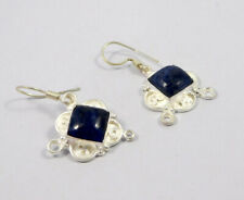 Handmade Earring Jewelry Mjc7698 Sodalite .925 Silver Plated