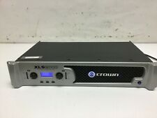 Crown Audio Xls2000 Dual Channel Professional Power Amplifier 650W Tested
