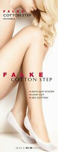 2er Pack Falke Cotton Step Ladies Socks Invisible Anti-slip