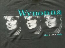 """Vintage 1998 Wynonna Judd """"The Other Side"""" Tour Concert Shirt country rock pop"""