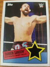 2015 Topps WWE Heritage Damien Sandow Authentic Shirt Relic