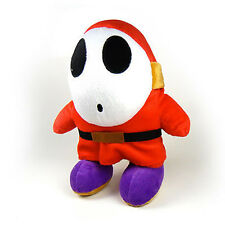 "Xmas 10"" Shy Guy Soft Plush Doll Figure Stuffed Toy Nintendo Super Mario Bros"