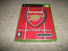 Arsenal Club Football 2003 / 04 Season - (Microsoft Xbox, 2003) NEW & SEALED