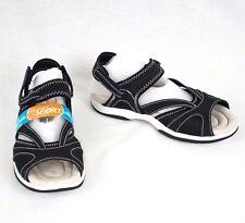 Sandals Black Adjustable Strap Sz US 7 EU 37.5  Foam Insole Easy Street Santana