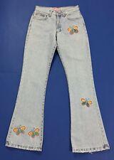 Kocca jeans vintage donna farfalle w28 tg 42 mom hot zampa bootcut usati T2069