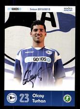Olcay Turhan Autogrammkarte Arminia Bielefeld 2012-13 Original + A 147633