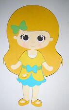 Strawberry Shortcake Lemon Meringue Die Cut Paper Doll Scrapbook Embellishment