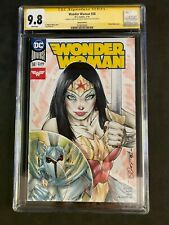 Wonder Woman #58 CGC 9.8 Sketch Edition Signed Shelby Robertson 2019 2576505005