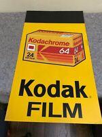 Vintage Kodak Film Advertisement Sign-Kodachrome G4 Film
