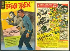 1967 U.S. GOLD KEY STAR TREK No. 2 Comics