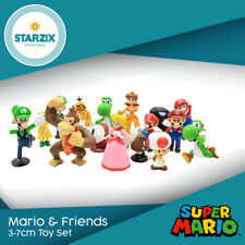 Super Mario Bros Family Friends 3-7cm 17 Figure Set Super Hero Character PVC Toy