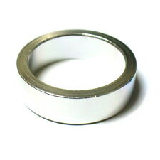 """MR CONTROL Alloy 3mm Thick Headset Spacer 10mm, 1-1/8"""", 9g Silver L46"""