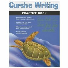 Cursive Writing Practice Book (Flash Kids Harcourt Family Learning) (Paperback o