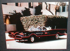 1960's Batmobile with Batman and Robin Full-Color 8 1/2 X 11 inch Picture