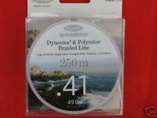 49lb BRAID DYNEEMA & POLYESTER LINE .41mm FLADEN 250m