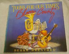 'Toons For Our Times: Bloom County by Berke Breathed (1984, Paperback, Illustrat
