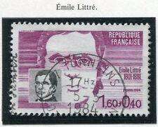 STAMP / TIMBRE FRANCE OBLITERE N° 2328 EMILE LITTRE