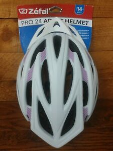 ZEFAL PRO 24 White Cycling Bike Helmet Large 58-61cm Adult