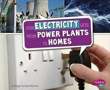 How Electricity Gets from Power Plants to Homes (Here to There),Peterson, Megan
