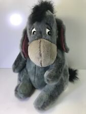 "Eeyore Plush Doll Disney Store Exclusive 15"" Stuffed Animal w/ Detachable Tail"