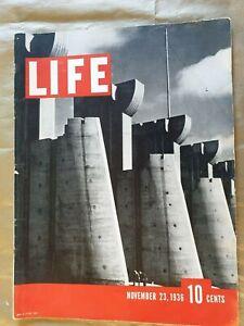 Vintage Life Magazine Issue #1 - November 23, 1936 , FULL SIZED ISSUE ORIGINAL