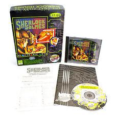 Los archivos perdidos de Sherlock Holmes para PC por Mythos de software, 1992, Misterio