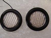 "2 x 2"" Backup lights 9 Bright White LED's Flush Mount Life Time Warranty Pair"