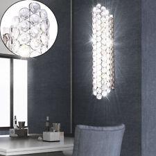 LUXE Mur Lampe Spot Chambre à coucher Spot lampe chrome éclairage cristal