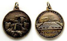 Medaglia Pellegrinaggio Nazionale Di Redipuglia E Gorizia 1950 Metallo Argentato