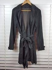 GORDON SMITH sz 18 womens long khaki jacket [#2940]