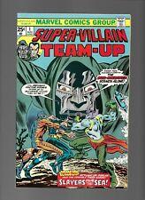 Super Villain Team-Up 1 3 4 12 13 Dr Doom Tiger Shark Simon Ryker Red Skull Sub
