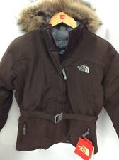 The North Face Girls Greenland Jacket Brownie Brown Large