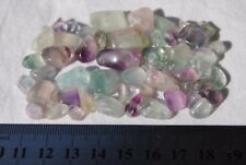 Fluorite Mini Tumbled Stones ~ 55pcs - 40 Grams ~ Natural Polished Crystal