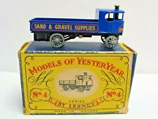 1956 Lesney Models of Yesteryear No.4 Sentinel Steam Wagon (2381)