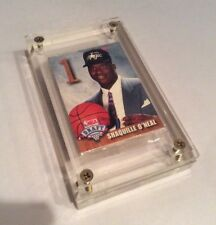 Shaquille O'neal 1992 Hoops Draft Redemption Rookie Card Set Sealed Acrylic Case