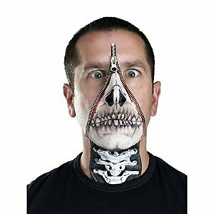 Fun World Skull FX Zipper Adult Makeup Kit - Halloween