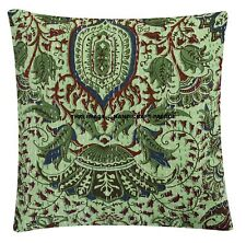 "Indian Kantha Decor Pillow Case 16X16"" Bohemian Hippie Sofa Cushion Cover Gypsy"
