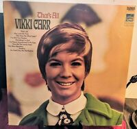 Vikki Carr That's All Record Album LP Stereo SUS-5228 Sunset Records 1969