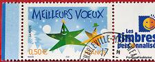 France - Timbre Personnalisé n° 3722 A  - Meilleurs Voeux 44m71