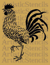 STENCIL French Farmhouse Rooster 10x9