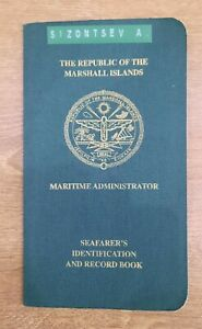Russia sailor Navy ID seamen record-book country Marshall islands  2014