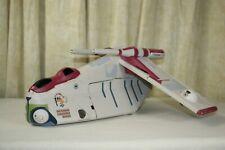 STAR WARS ~ Attack of the Clones ~ REPUBLIC GUNSHIP ~ Crumb Bomber ~ Toys R Us