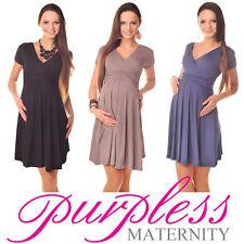 Summer/Beach Short Sleeve Maternity Dresses