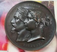 Ottoman Turkey France Great-Britain Crimean War Medal 1854 by Laurent Hart RARE