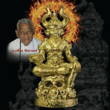 Phaya Matchurat Ajarn Plian Khao Aor Thai Amulet Talisman Protection Anti Ghost