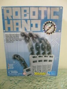 Build Your Own Robotic Hand by Kids Labs Creative Fun Science Kit 2009