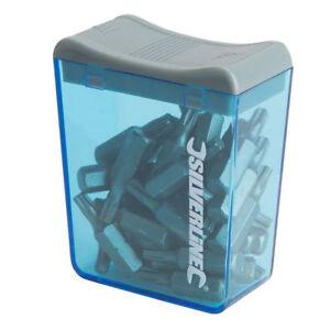 30 Pack Silverline Cr-V 6150 Steel Screwdriver Bits 25mm PZ2, PH2, T20 or T25