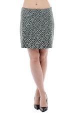 DROME New Woman Green Leopard Print Leather Tube Pencil Mini Skirt Size S $574