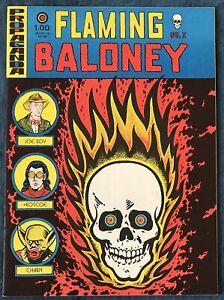 Flaming Baloney  Underground Comix  Circa 1970s  Early Harvey Pekar