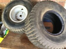 Ride On Mower Rim And Tyres